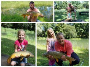 la pêche pour les grands et les petits