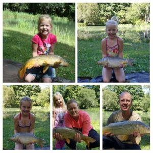 Les enfants adorent aussi la pêche !